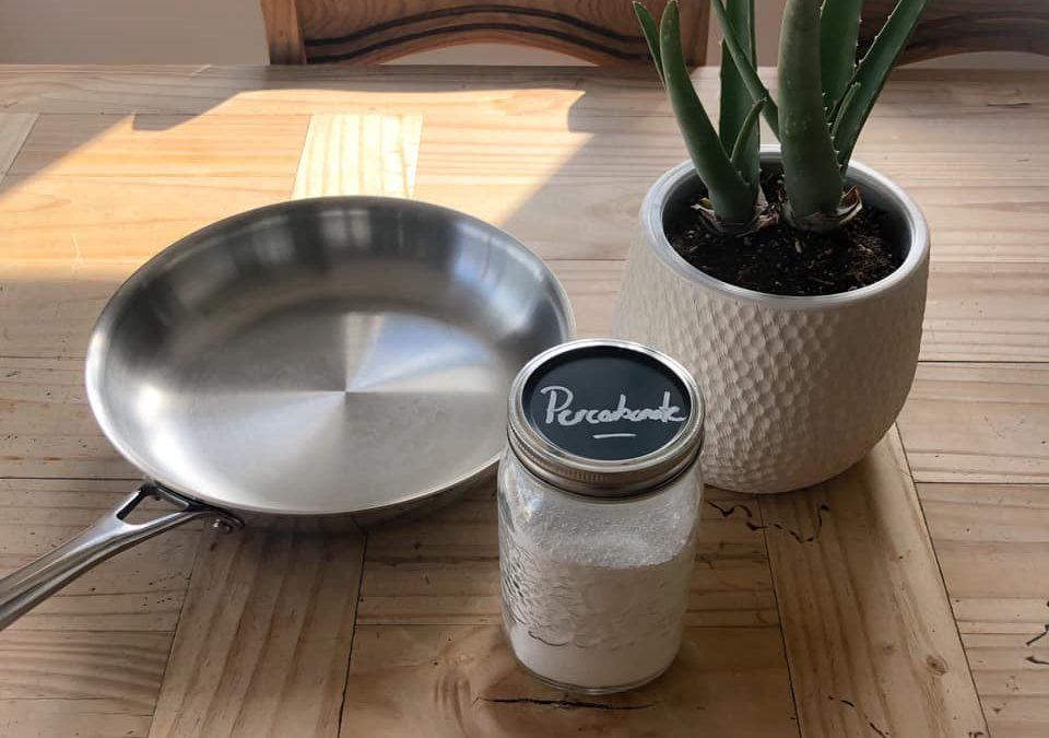 Récurer tes casseroles avec le percarbonate de soude