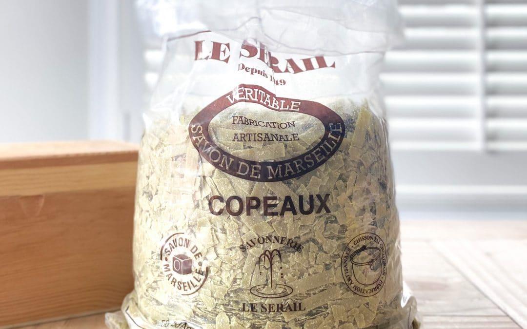 Copeaux de savon de Marseille sans glycérine